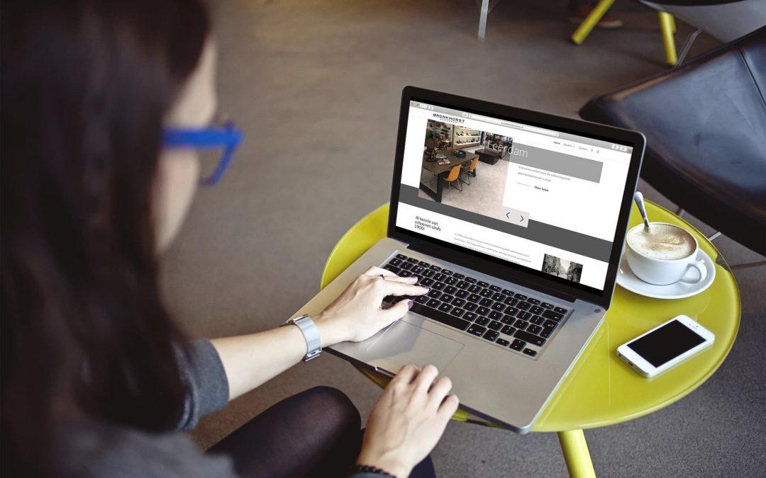 Realisatie website Bronkhorst Schoenen