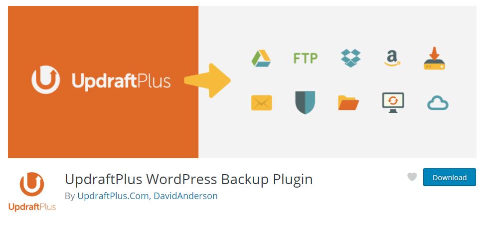 Hoe kan je een backup maken van je WordPres website? | UpdraftPlus BackupRestore 1