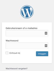 Hoe kan je een backup maken van je WordPres website? | inloggen wordpress 1