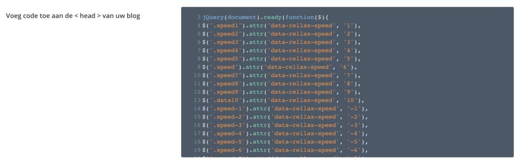 Zo gebruik je rellax.js met Divi binnen 5 minuten | rellax js toevoegen divi 3