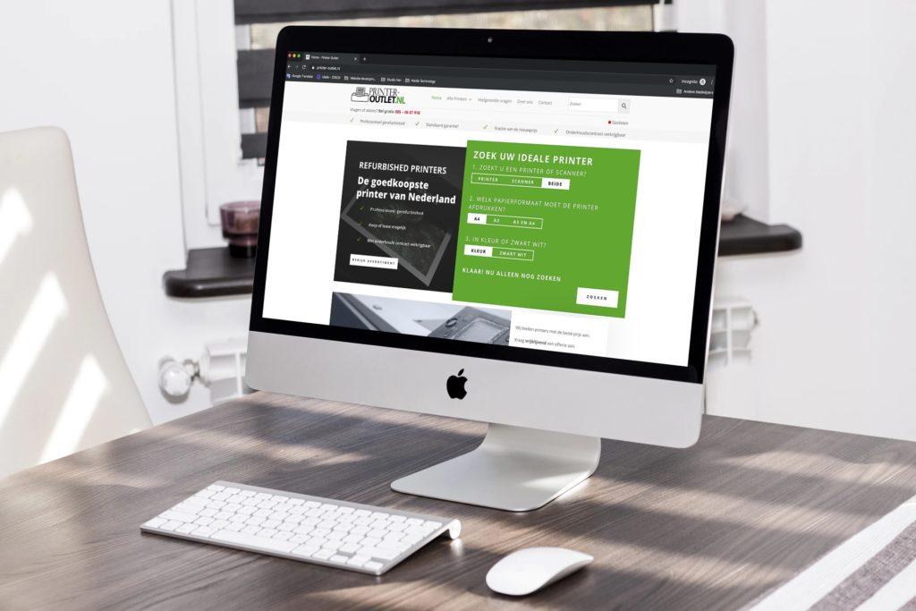 Home | Realisatie webshop printer outlet 35