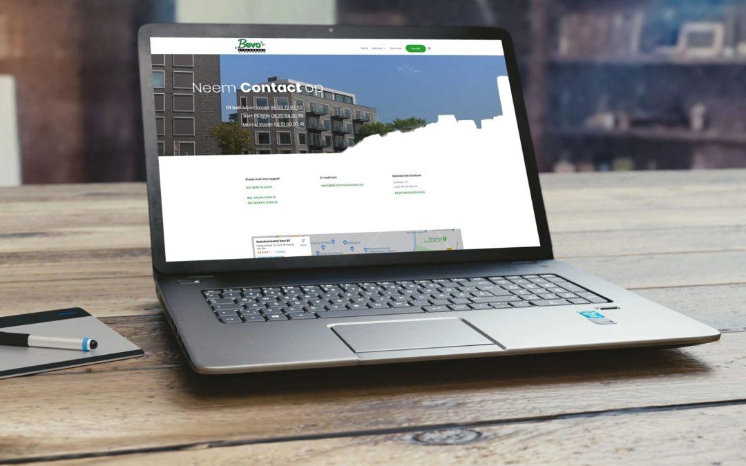 Vernieuwing website Bevo Stukadoors