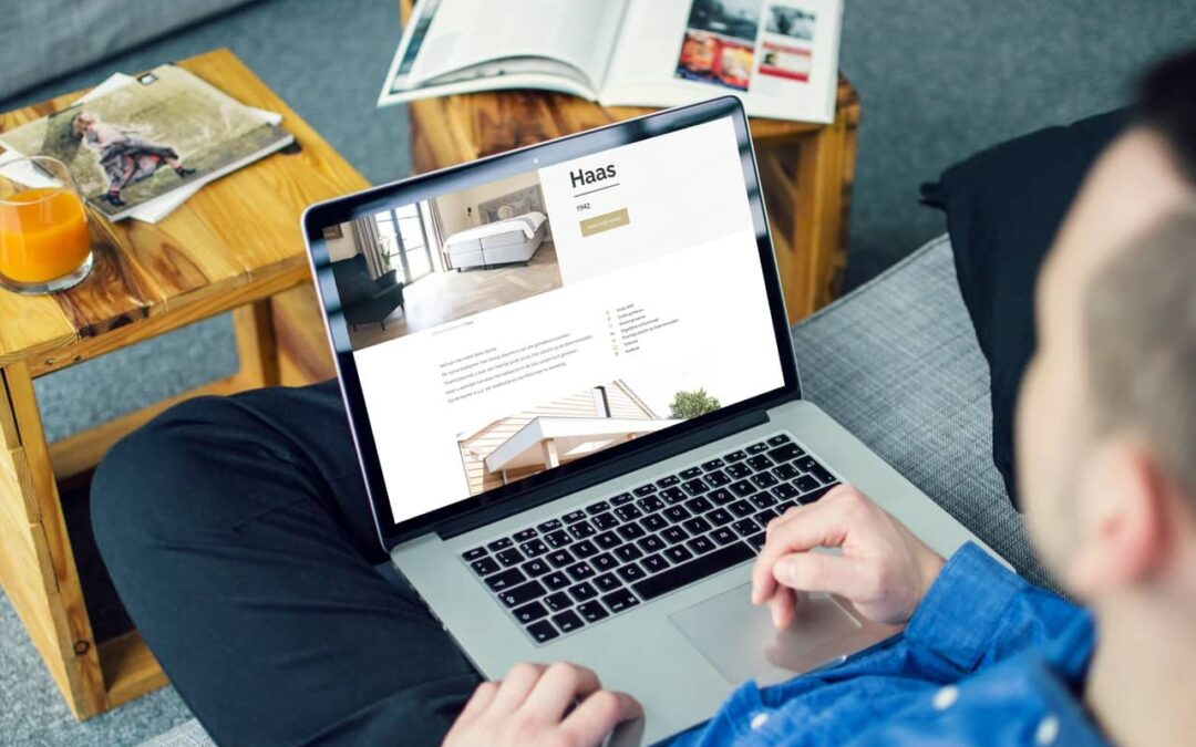 Website realisatie Bed and Breakfast de Cley